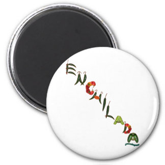 Enchilada Chili Peppers Magnet