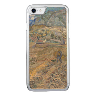 Enclosed Wheat Field with Peasant by Van Gogh Carved iPhone 8/7 Case