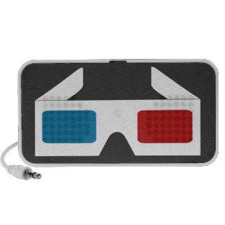 Enclosure Glasses 3D ClickforGraph Travel Speakers
