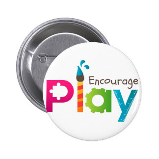 Encourage Play Round Button Logo