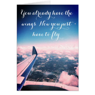 "Encouragement ""Fly"" Card"