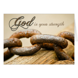 Encouragement for Strength Card