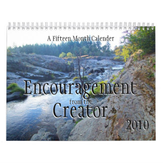 Encouragement from the Creator Calendars