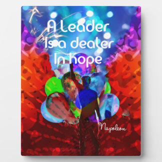 Encouragement  message for leadership. display plaques
