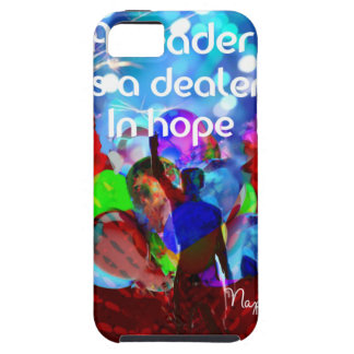 Encouragement  message for leadership. iPhone 5 covers