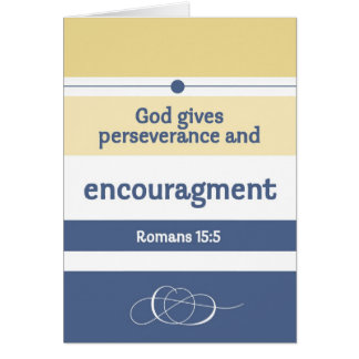 Encouragement Scriptures Card
