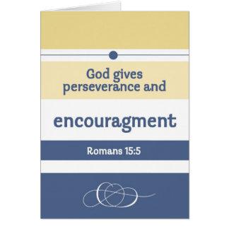 Encouragement Scriptures Greeting Card