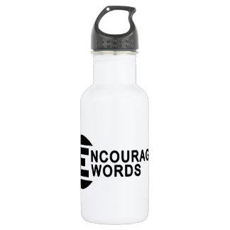 Encouraging Water Bottle