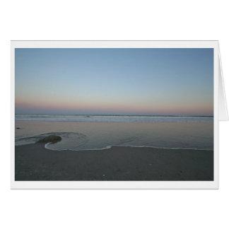 Encroaching--Ocean and Beach Card