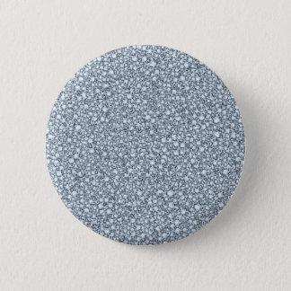 Encrusted Diamonds Look Glitter Patter 6 Cm Round Badge