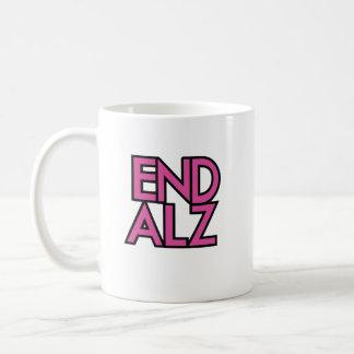 End Alz Alzheimer's Awareness Month Purple Gifts Coffee Mug