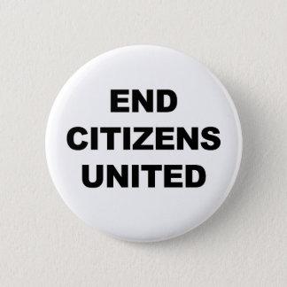 End Citizens United 6 Cm Round Badge