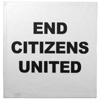 End Citizens United Napkin