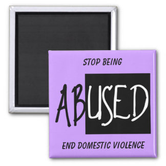 End Domestic Violence, Stop Being Square Magnet