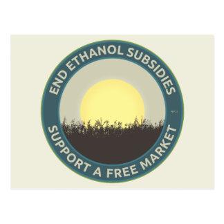 End Ethanol Subsidies Postcard