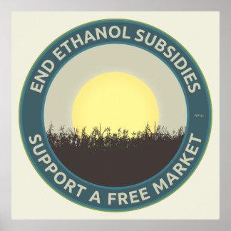 End Ethanol Subsidies Poster