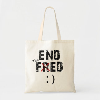 End Fed Budget Tote Bag