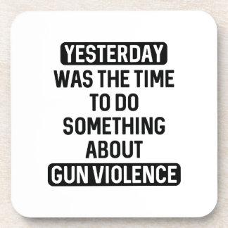 End Gun Violence Now Coaster