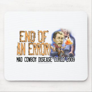 End of an Error Mad Cowboy Disease Mousepad