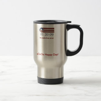end of an error, oOoOo Happy Day! Stainless Steel Travel Mug