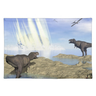 End of dinosaurs place mats