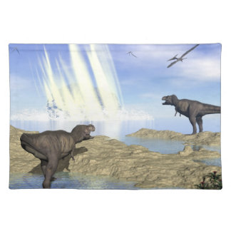 End of dinosaurs placemat