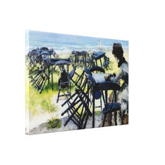 End of Season Canvas Print