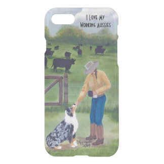 """""""End of the Day"""" Aussie iPhone 7 Deflector Case"""