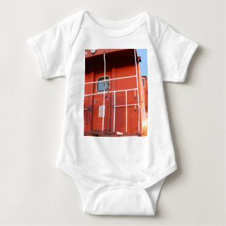 End of The Line Baby Bodysuit