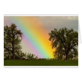 End Of The Rainbow Pot Of Gold Card