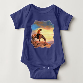 End of the Trail Baby Bodysuit