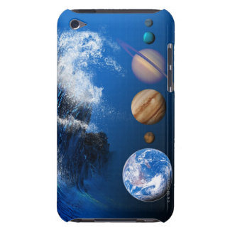 End of the World in 2012 conceptual computer iPod Case-Mate Case