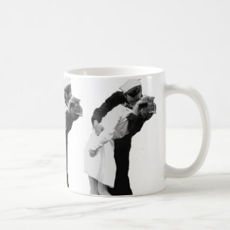 End of War Kiss Basic White Mug