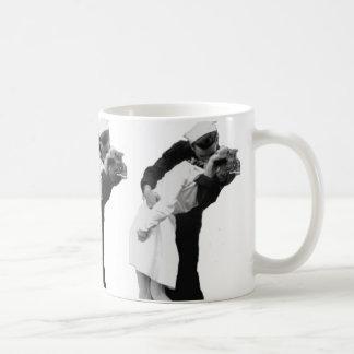 End of War Kiss Coffee Mug