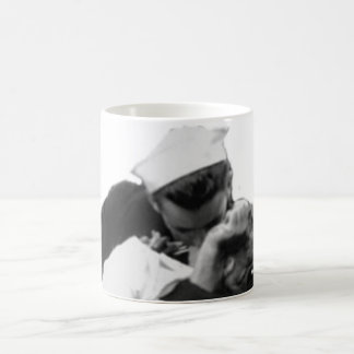 End of War Kiss Mugs
