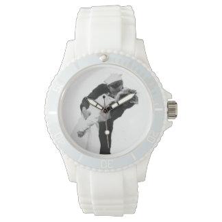 End Of War Kiss Wristwatch