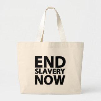 end slavery now jumbo tote bag