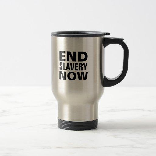 end slavery now coffee mug