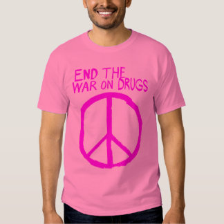 End The Failed War On Drugs Tees