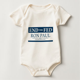 End the Fed Baby Bodysuit