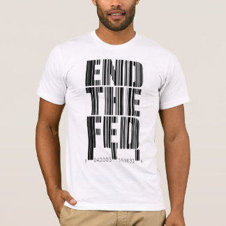 End The Fed Bar Code Design Shirt
