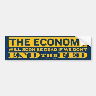 End the Fed Bumper Sticker