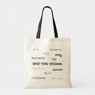 End the MI Stigma Canvas Bags