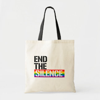 End the Silence - - LGBTQ Rights -  Tote Bag