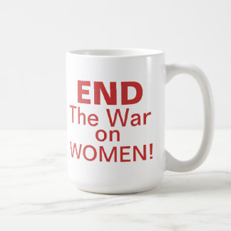 End The War On Women Mugs