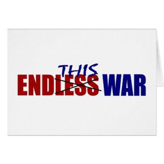 End This War Card