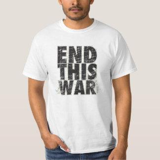 End THIS WAR T-shirt