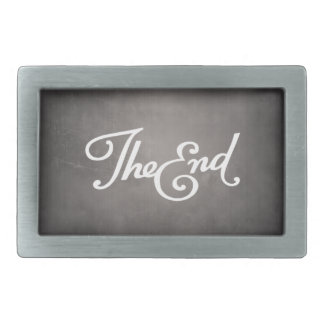 End Title Belt Buckle