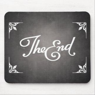 End Title Card mousepad