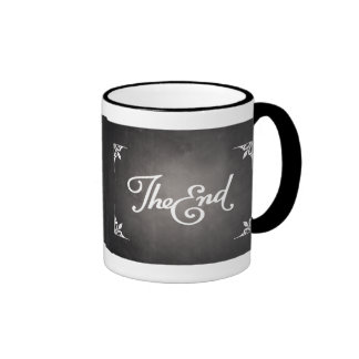 End Title Card mug